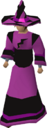 Dark infinity robes equipped