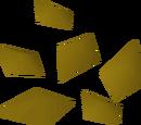 Unidentified minerals