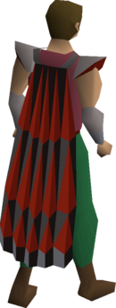 Obsidian cape (r) equipped