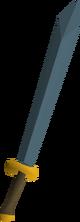 Rune 2h sword detail