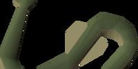 Raw cave eel