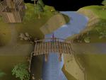 Emote clue - spin barbarian village bridge