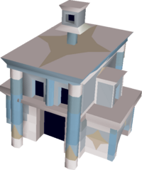 Consecrated house built