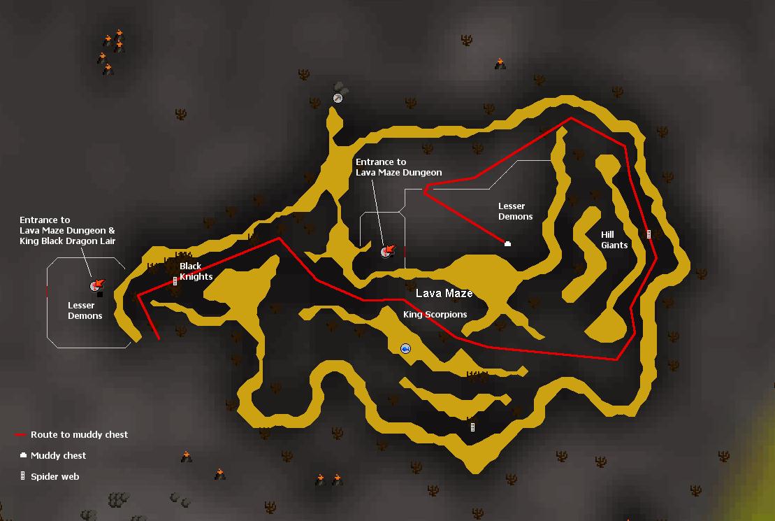 Lava Maze Nav