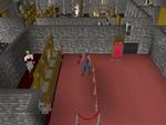 Emote clue - push up warrior guild bank
