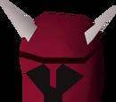 Dragon med helm