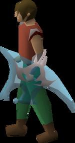 Elysian spirit shield equipped