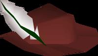 Red cavalier detail