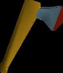 Rune axe detail