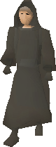 Ghostly robes equipped