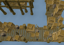 Monkey Madness II - airship platform