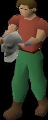 Oddskull equipped