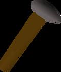 Hammer detail
