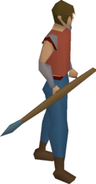 Rune javelin equipped