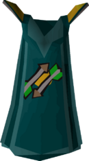 Fletching cape detail