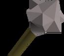 Steel mace