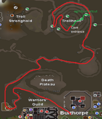 Eadgar's ruse cave map