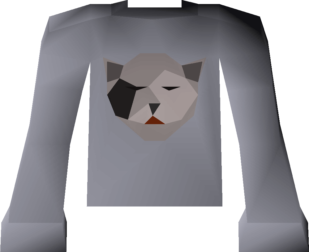 Bob's black shirt detail