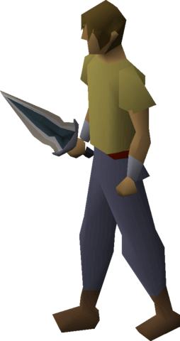 File:Glowing dagger equipped.png