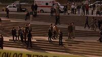 Plaza steps