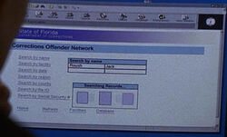 Corrections Offender Network