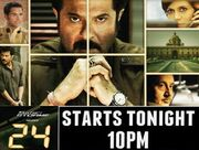 24 India TV show promo poster