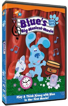 Blues Clues Big Musical DVD Yoyo