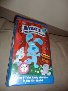 Blue's Clues Big Musical Movie VHS Pinterest
