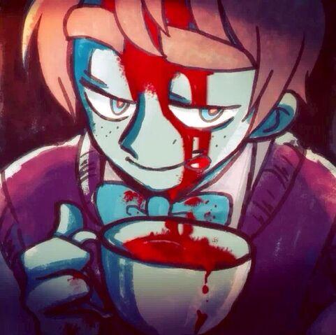 File:Oliver enjoys some tea.jpg