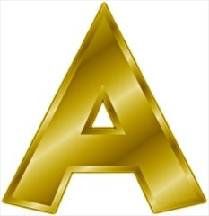 File:233px-Gold-letter-A-1-.jpg
