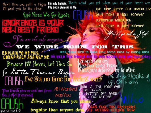 File:Paramore lyrics by rosejack617-d4e5ha2.jpg