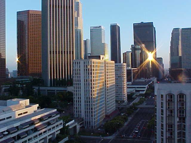 L.A Financial district