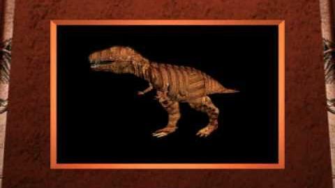 Walking Tyrannosaurus
