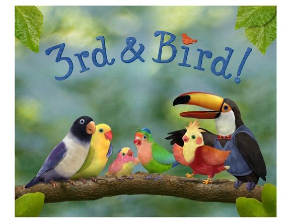 File:3rd & Bird! Wiki Wikia Unaired Pilot Logo Mr Beakman Samuel Rudy Muffin.jpg