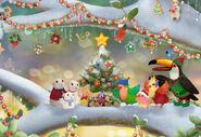 3rd & Bird A Very Squooky Christmas! Art