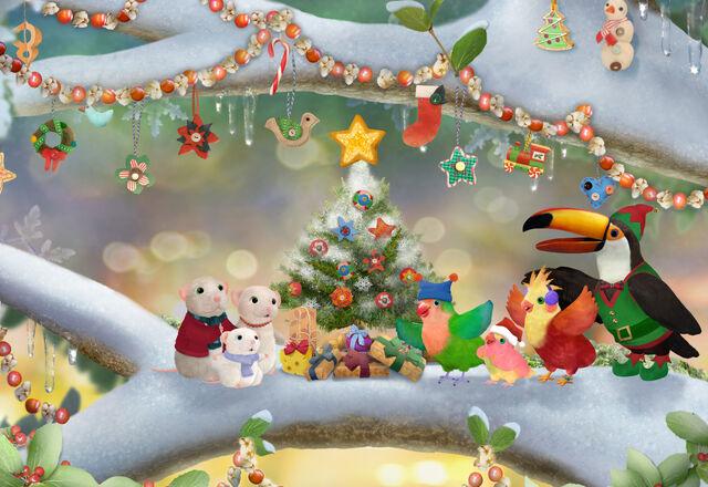 File:3rd & Bird A Very Squooky Christmas! Art.jpg