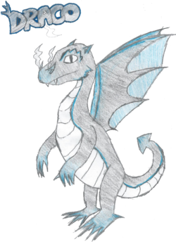 Drawing of Draco