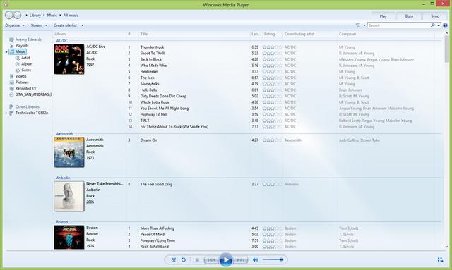 File:Windows Media Player 12 running on Windows 8.png
