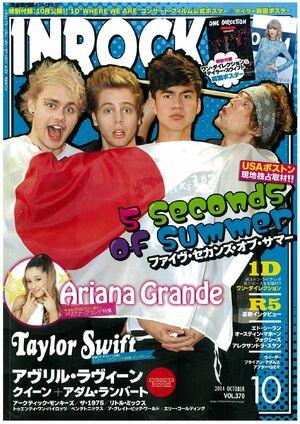 Inrock magazine october 2014