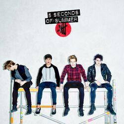 5 Seconds of Summer Target album white