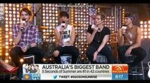5 Seconds of Summer - Interview on Sunrise (May 2014)