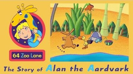 64 Zoo Lane - Alan the Aardvark S02E08 HD