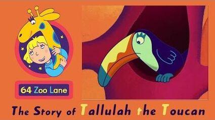 64 Zoo Lane - Tallulah the Toucan S03E26 Cartoon for kids