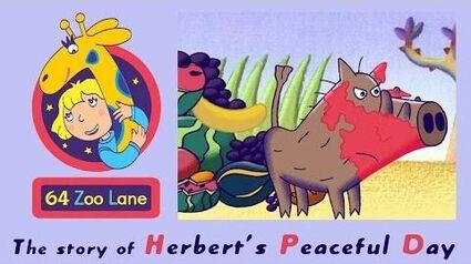 64 Zoo Lane - Herbert's Peaceful Day S02E25 HD Cartoon for kids