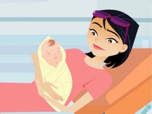 File:Pregnant Lady in 6teen - After birth.jpg
