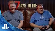 PLAYSTATION 4 7 DAYS TO DIE FIRST LOOK - Gameplay with Fun Pimps Co-Founder Rick Huenink (Part 2)