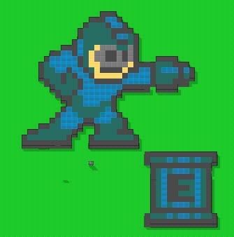 Megaman in error town 5