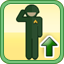 Decrease Unit Supply Requirements Research Icon (Gold)