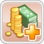 Tax Income Research Icon (Red)