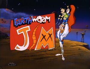 Earthworm Jim Title Card